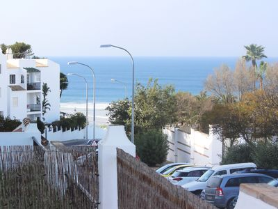 Photo for Light-flooded apartment is just 3 minutes from the beach with sea views