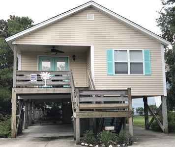 Superb 3Br House Vacation Rental In Surfside Beach South Carolina Home Interior And Landscaping Elinuenasavecom