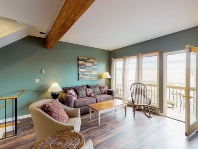 Photo for NEW LISTING! Lovely, dog-friendly townhome w/private hot tub - steps to slopes