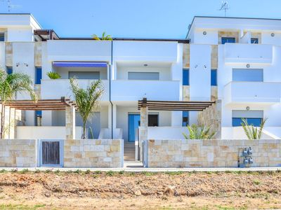 Photo for Three-room apartment in a residence in Porto Cesareo, in the Torre Lapillo area.