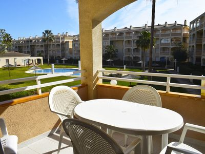 Photo for AP2112 Urb Bahia Denia vista al mar