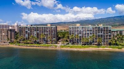 Photo for Oceanfront 1BR w/ Floor to Ceiling Windows, Lanai, Free WiFi & Free Parking