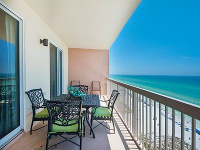 Photo for BeachFRONT☀️2 Pools + Hot Tubs☀️2Step Sanitizing Process☀️3BR Sunrise Beach 1404