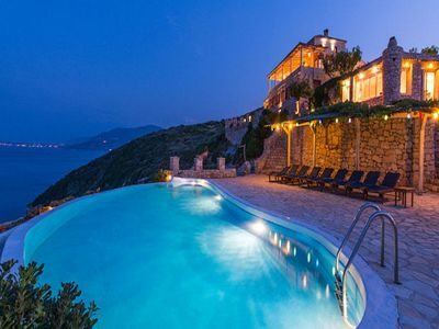 Photo for Villa Tourkouaz stands majestically on the cliff and offers breath-taking panoramic views. The villa