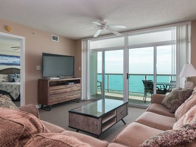Photo for The stunning view is king in this Crescent Keyes ocean-front condo! | Crescent Keyes - 1008