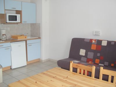 Photo for Réallon, nice apartment for 4 people with beautiful lake view