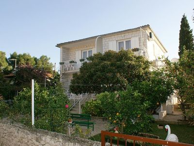 Photo for One bedroom apartment with balcony and sea view Mirca (Brač)