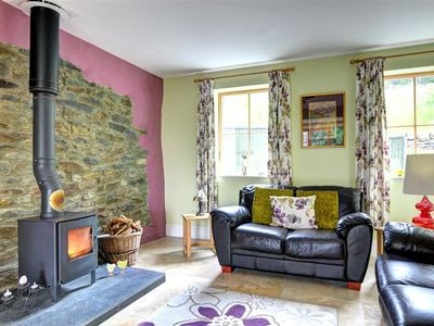 Photo for Buzzard View is a lovely conversion of a stone barn dating 400 years. The cosy wood burner and expos