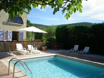 Photo for Cosy gîte for two persons in the countryside of the Provence, centre Var
