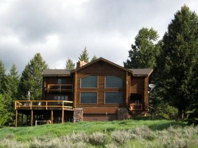 Photo for Log Home With A Grand View Close to Grand Teton and Yellowstone Parks