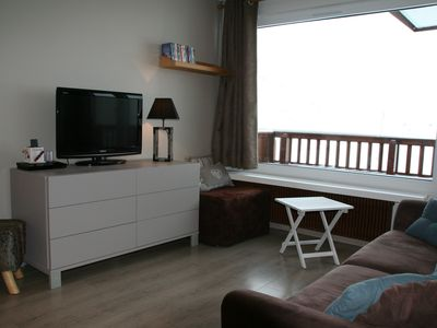 Photo for Roc de Peclet apartment 41 m², South, Foot of the slopes, Heart Station