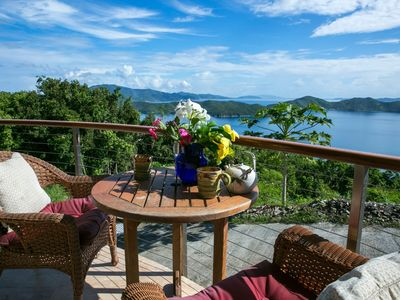 Photo for Couples Retreat with Sweeping VIEWS & Glass bottom kayak included!