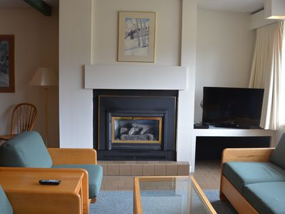 Photo for 2 BR, 2 Story Condo In The Heart Of Stowe, Vermont.  Hot Tub, Sauna, Indoor Pool