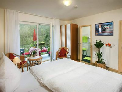 Photo for New double rooms / shower / WC / HDTV / WiFi / south-balcony - Gästehaus Ute Weisgerber