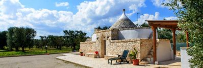 Photo for Renovated holiday home in traditional style - Trullo San Michele