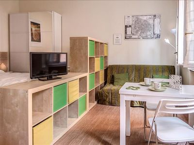 Photo for Corte Galluzzi apartment in Bologna with WiFi & integrated air conditioning.