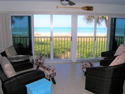 Your view of the Gulf! Open the sliders to enjoy the surf & ocean breeze!