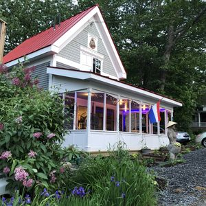 Photo for New Waterview Cottage in historic Bayside on Penobscot Bay