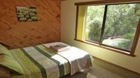 We were extremely happy with our cottage, the lovely setting of trees, birds and wildlife.