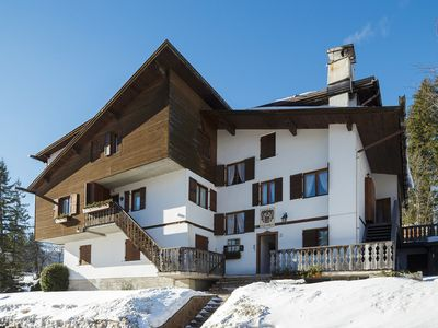 Photo for Villa Casanova is located just 300 meters from Cortina's bell.