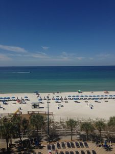 This is your Stunning View from private balcony on the 7th floor.
