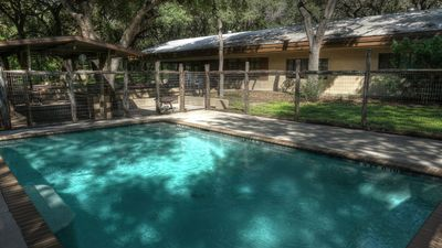 Photo for Frio River Vacation! Frio River is 1/2 Mile Away. Private swimming Pool.