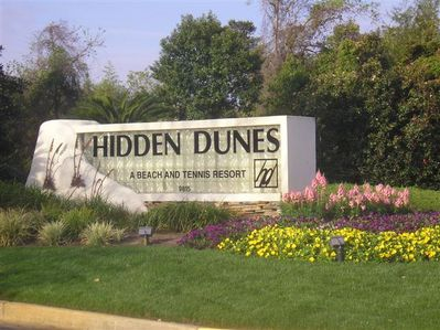 Hidden Dunes is close to shopping, restaurants, state parks & other attractions