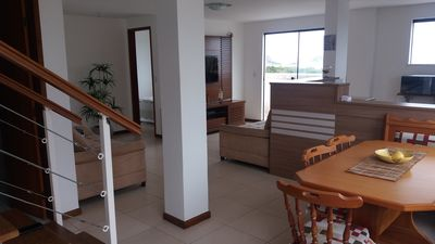 Photo for Excellent coverage front Duplex to Praia Grande