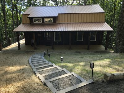 Photo for BRAND NEW OPENING JULY 1, 2020 - Hocking Hills Hidden Cabins  - Copperhead Cabin