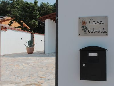 Photo for Casa Calendula with heated pool. Access by electric garage door.