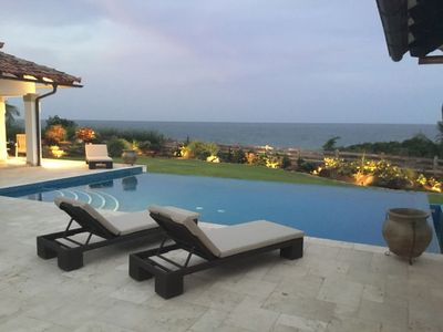 Photo for Stunning 3 Bedroom Waterfront House with Infinity Pool
