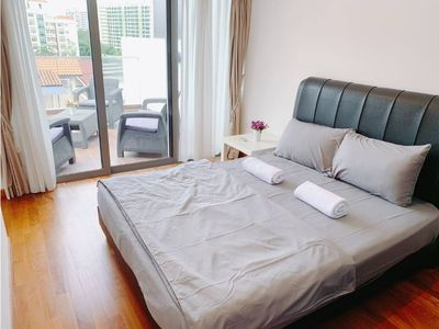 Photo for ♥♥Beautiful Penthouse w nice balcony @ Town msl01
