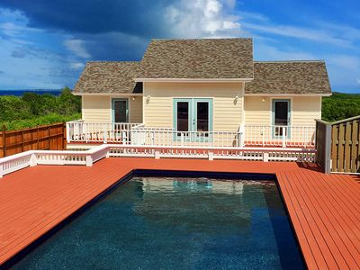 ***Incredible Pool w/ Hot Tub***Beautiful Beach***Brand New 2BR Villa  w/ AC***