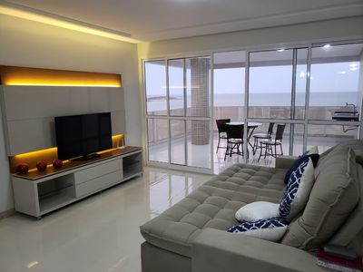 Photo for Luxury Apartment, Beachfront, 3 Suites, 2 Garage Spaces