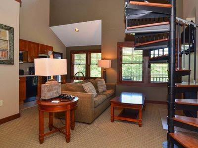 Photo for A315 - Studio & Loft Lake View Suite at Lakefront Hotel