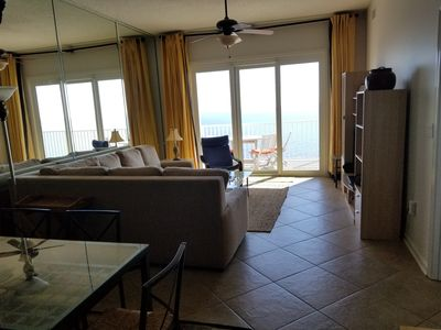 Photo for Perdido Key, Beach Front 2BR/2BA - Heated Pool - Great Views