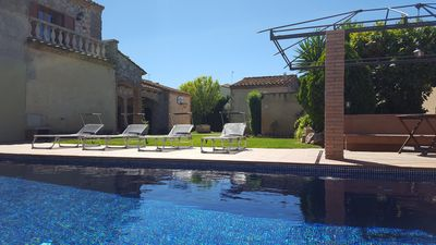 Photo for 2 PRIVATE ROOMS + SWIMMING POOL