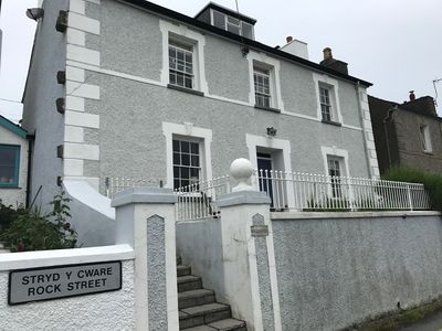 Photo for Beautiful seafront 5 bedroom Georgian townhouse steps from the beach