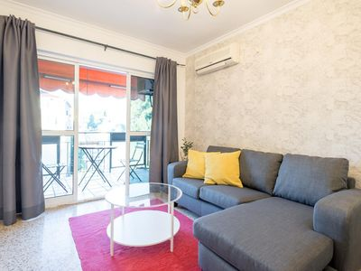 Photo for SEAFRONT APARTMENT WITH TERRACE