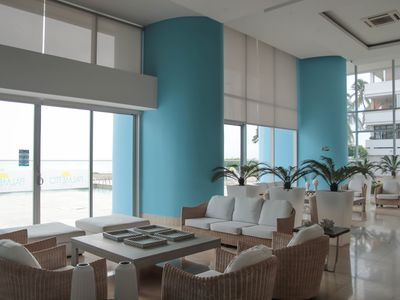 Photo for SPECTACULAR APARTMENT IN CARTAGENA WITH BALCON AND SEA VIEW, 28 FLOOR,