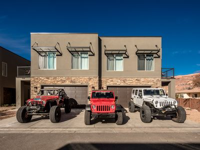 Photo for Sleeps 24 - Top Rated Moab Property - Plus Free Townie Bikes!