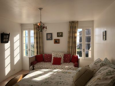 Master King Bedroom includes daybed, beautiful views