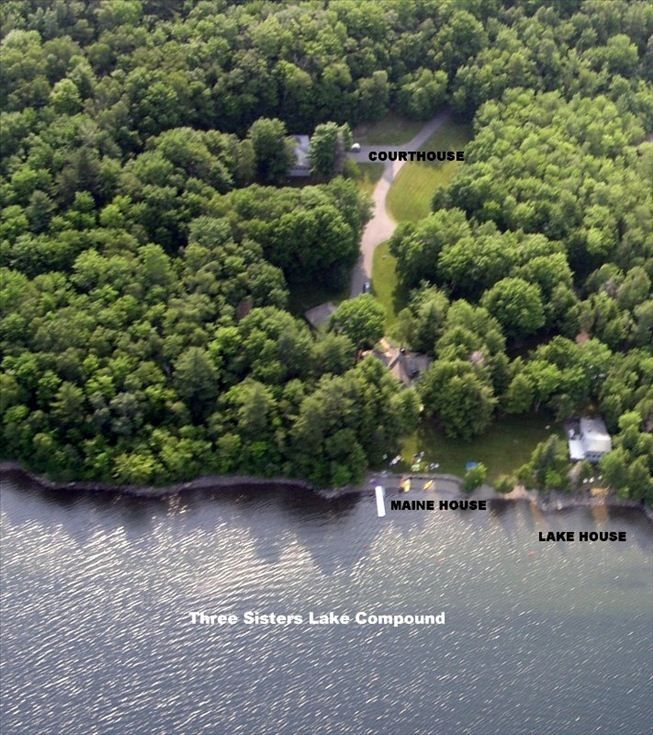 Luxury Home Lake Maine: Maine Lake Compound Three Homes On The Lake Very Private