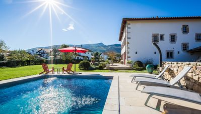 Photo for KEYWEEK Basque Villa - Mountain View - Fireplace - Pool - 10 min from Beaches