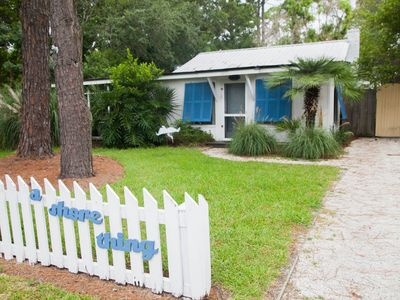 Photo for A Shore Thing c1949! Ground level cottage. Screened Porch. Pet-friendly! WIFI