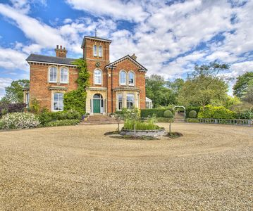 Photo for Milton House - Beautiful Yet Grand Manor House Set in Large Secluded Grounds