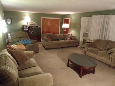 Photo for Spacious Ranch, Great Location, Room To Relax Inside and Out!