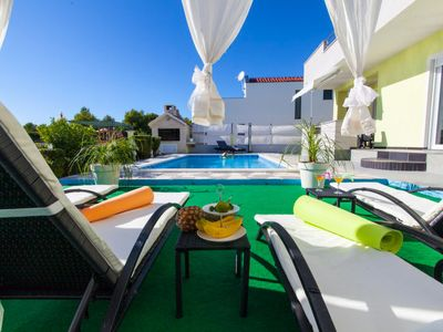 Photo for Vacation home Villa Anny in Brodarica - 10 persons, 5 bedrooms