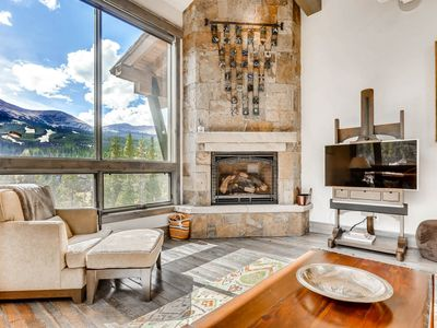 Photo for Enjoy Hot Tub, Gas Fire Pit, Excellent Views & Ideal Location on Peak 8!