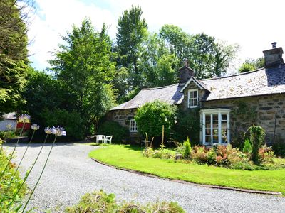 Photo for Situated in 1.5 acres of landscaped grounds, Bryn-yr-Odyn Cottage is a characterful C17th property s